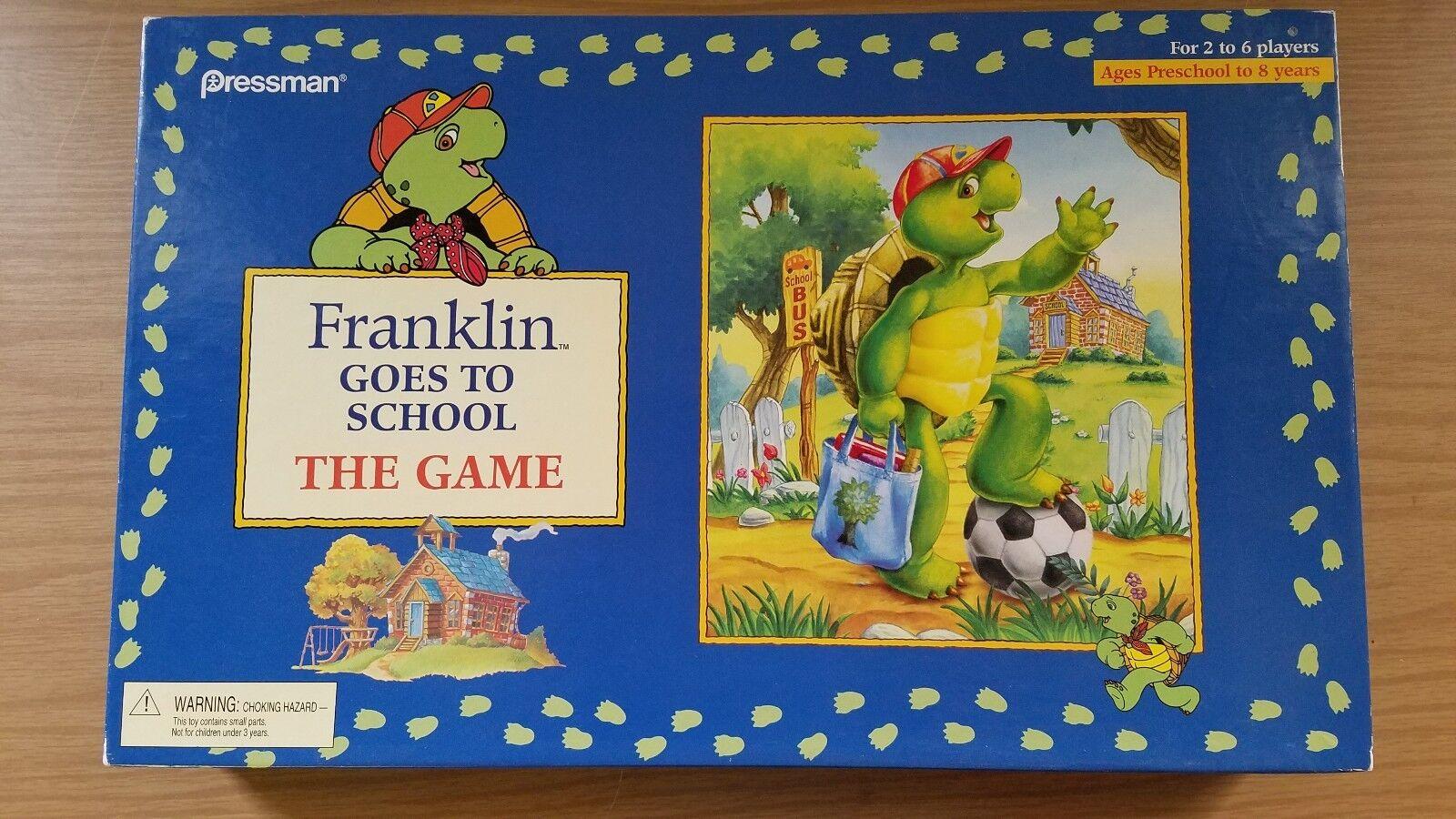 Jahrgang 1986 franklin zur schule geht und das spiel komplett pressman