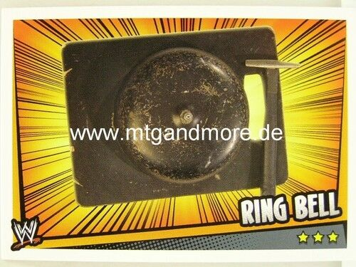 Slam Attax Rumble-ring bell-prop