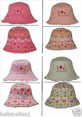"Cordiale Girl's Ricamato / Floreale Reversibile Bush / Secchio Cappello Estivo 8mths -2 Anni Circa-oral Reversible Bush/bucket Summer Hat 8mths -2yrs Approx"" Data-mtsrclang=""it-it"" Href=""#"" Onclick=""return False;""> I Colori Stanno Colpendo"