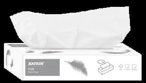 Katrin Plus 2 capas de los tejidos Facial Suave Estuche de 40
