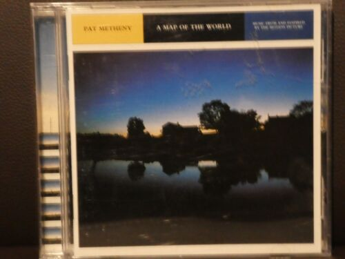 1 of 1 - A Map of the World [Music From the Motion Picture] by Pat Metheneny, CD, E1