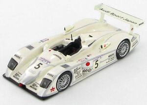 IXO-LMM036-Audi-R8-5-Audi-Japan-GOH-Ara-2002-Le-Mans-Racing-Diecast-1-43