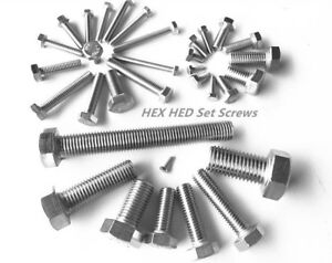 Sets of Hex Bolt with Nut and Washers Zinc M5 M6 M8 M10 High tensile set Screw