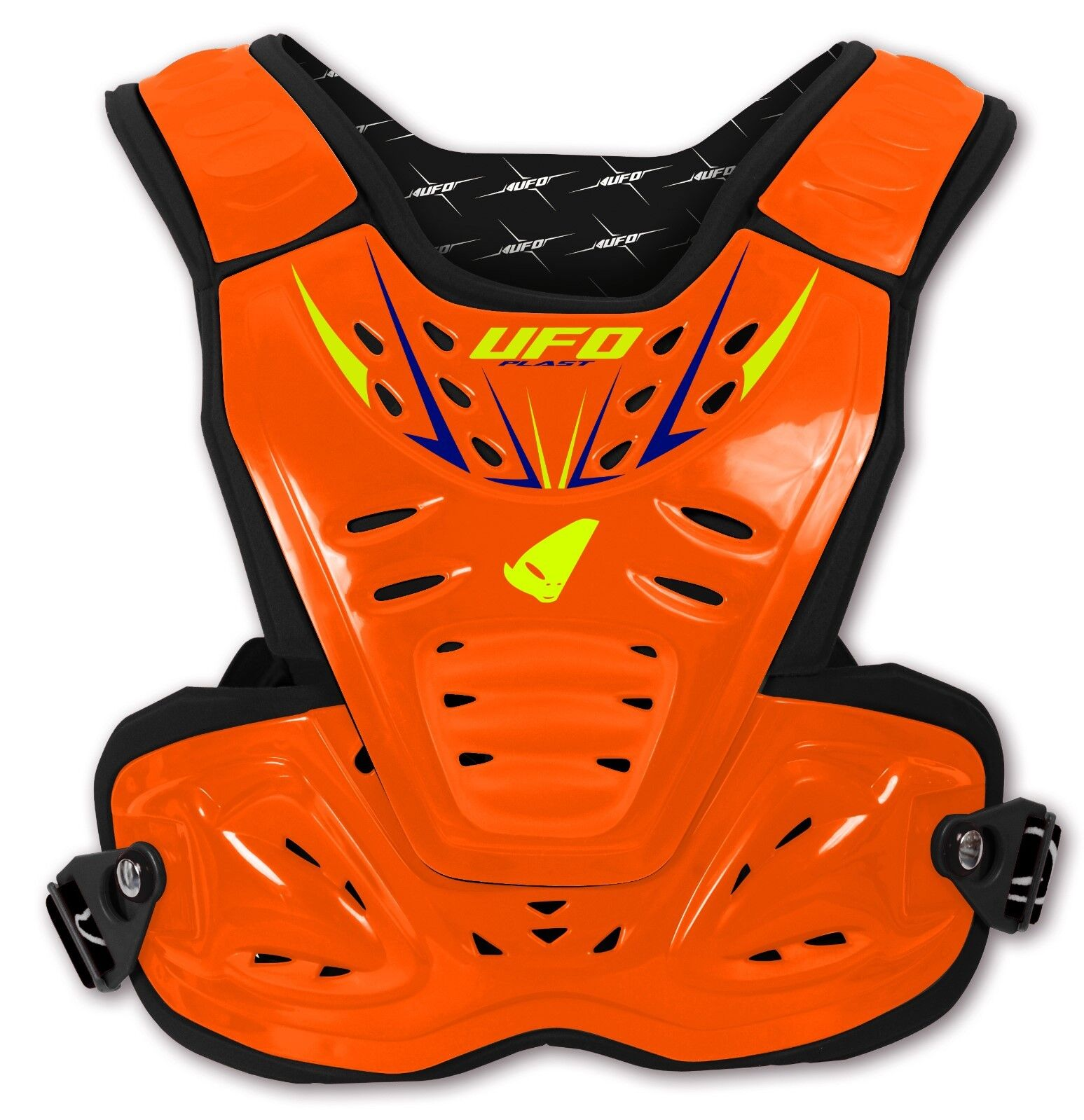 UFO REACTOR 2 EVOLUTION Protezione petto petto Protezione Arancione Fluorescente 55ccc7