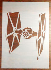 TIE Fighter Star Wars Stencil Reusable Mylar Sheet for Arts & Crafts, DIY