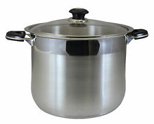 CONCORD 30 QT Stainless Steel Stock Pot. Heavy Stockpot