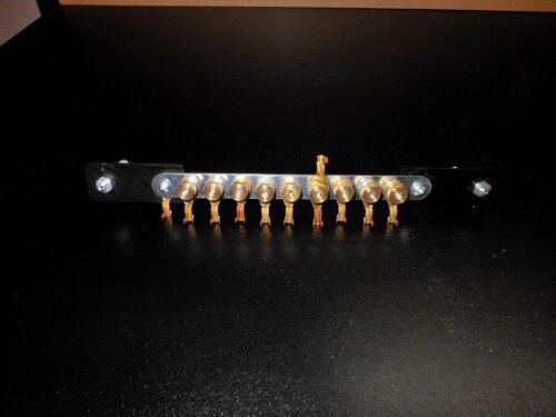 CNC Power Bus Bar 9 Terminal Toolless Terminal Manipulation!