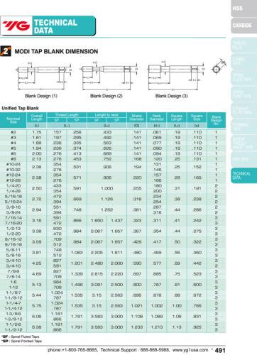 10-32 H3 3 Flute Spiral Point Plug Tap Super HSS Hardslick for Steel