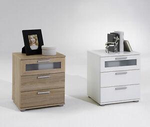 nachtkonsole nachtkommode nachttisch nachtschrank schublade jack 2 boxspringbett ebay. Black Bedroom Furniture Sets. Home Design Ideas