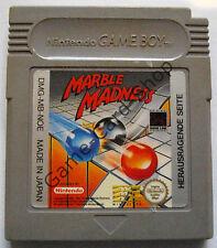 GAME BOY - MARBLE MADNESS - nur MODUL - gebraucht