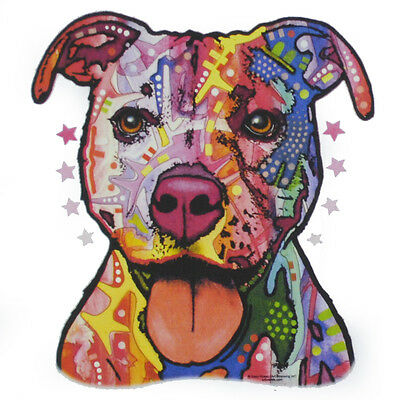 Kids Pitbull Dog Neon T-Shirt Unisex Children to Adult Cute Youth Junior boys