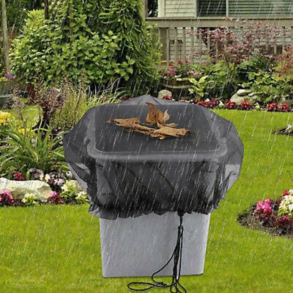 Mesh Cover Netting Outdoor Garden Rain Barrels Water Collection Buckets Tank UK