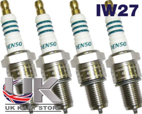 Denso IW27 Iridium Kart Spark Plug x 4 for Rotax Max Iame TonyKart Karting