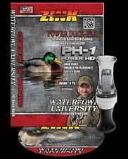 ZINK CALLS PH-1 POWER HEN SMOKE/ BLACK POLY SINGLE REED DUCK CALL & DVD COMBO