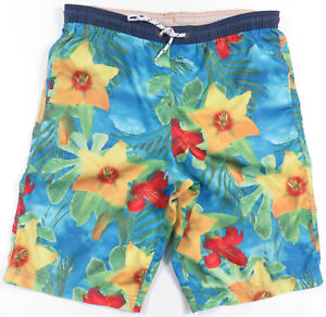 47770844 Image is loading 90S-Tommy-Hilfiger-Mens-Floral-Hawaiian-Polo-Sport-