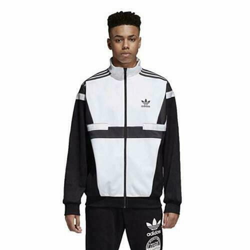 Adidas Originals BR8 Track Jacket Men's ( Size S XL ) Black White CZ6109