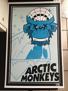 Arctic monkeys band poster