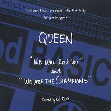 We Will Rock You/We Are the Champions - Queen [CD Single, 5 TRACKS] BRAND NEW