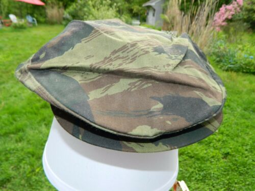 Size Union Made Details about  /Flat Cap Deadstock X-Large Dark Woodland Tiger Stripe