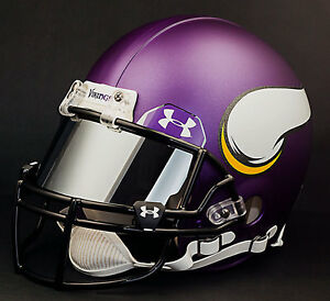 c0f8bf459cc Image is loading MINNESOTA-VIKINGS-NFL-Authentic-GAMEDAY-Football-Helmet-w-