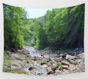 Wall-Tapestry-Wall-Hanging-Printed-in-USA-Photo-50-landscape-forest-river-woods