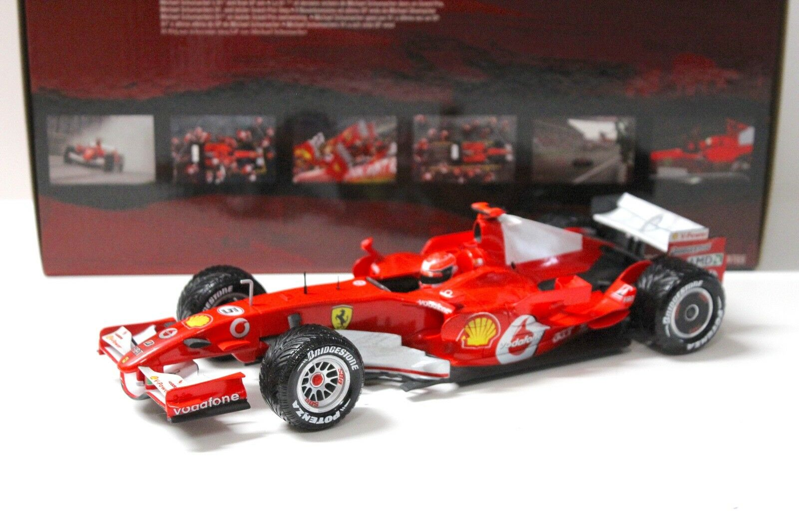 1 18 Hot Wheels Ferrari 248 F1 M.Schumacher GP Shanghai NEW bei PREMIUM-MODEL