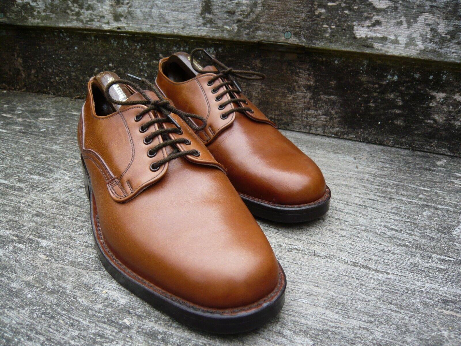 Cheaney vintage Veldt zapatosn Derby marrón   marrón - Reino Unido 7,5 grados Celsius Neath sin adornar