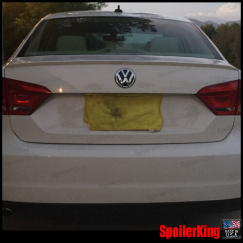 SpoilerKing 244L Rear Trunk Lip Spoiler Wing Fits: Volkswagen Passat 2012-19