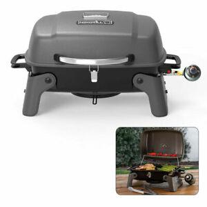 Nexgrill 1 Burner Propane Gas Grill Table Top Portable Compact Barbecue Hibachi