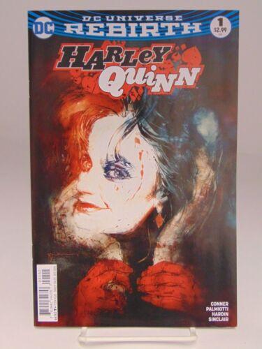 HARLEY QUINN #1 VARIANT COVER DC UNIVERSE REBIRTH COMICS VF//NM CB620