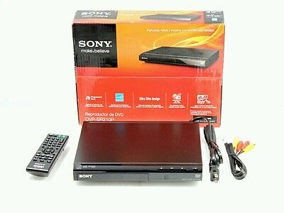 Sony DVP-SR210P DVD Player Progressive Scan with Remote