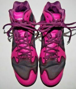 Under-Armour-Anatomix-Micro-G-Mens-Pink-amp-Black-Basketball-Shoes-Size-12