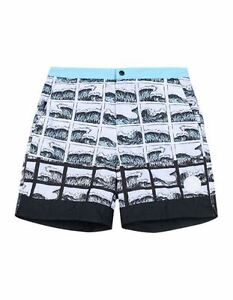 09e31808 KENZO PARIS Men's SWIM Shorts BEACH Trunks SQUARE Wave Water PRINT L ...