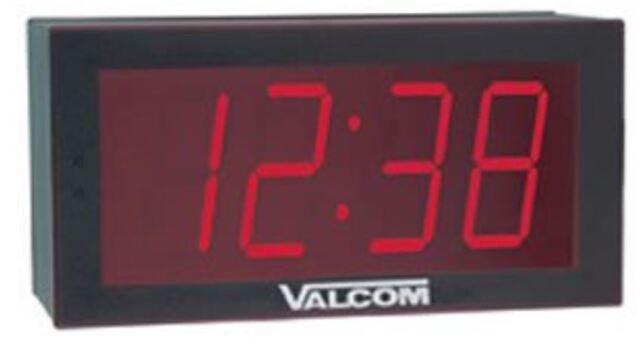 24V Valcom V-D2440 V-D2440 Valcom 4 Inch Character Digital Clock