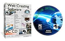 WEB WEBSITE DESIGN DESIGNING PAGE DESIGNER SOFTWARE CD SUITE