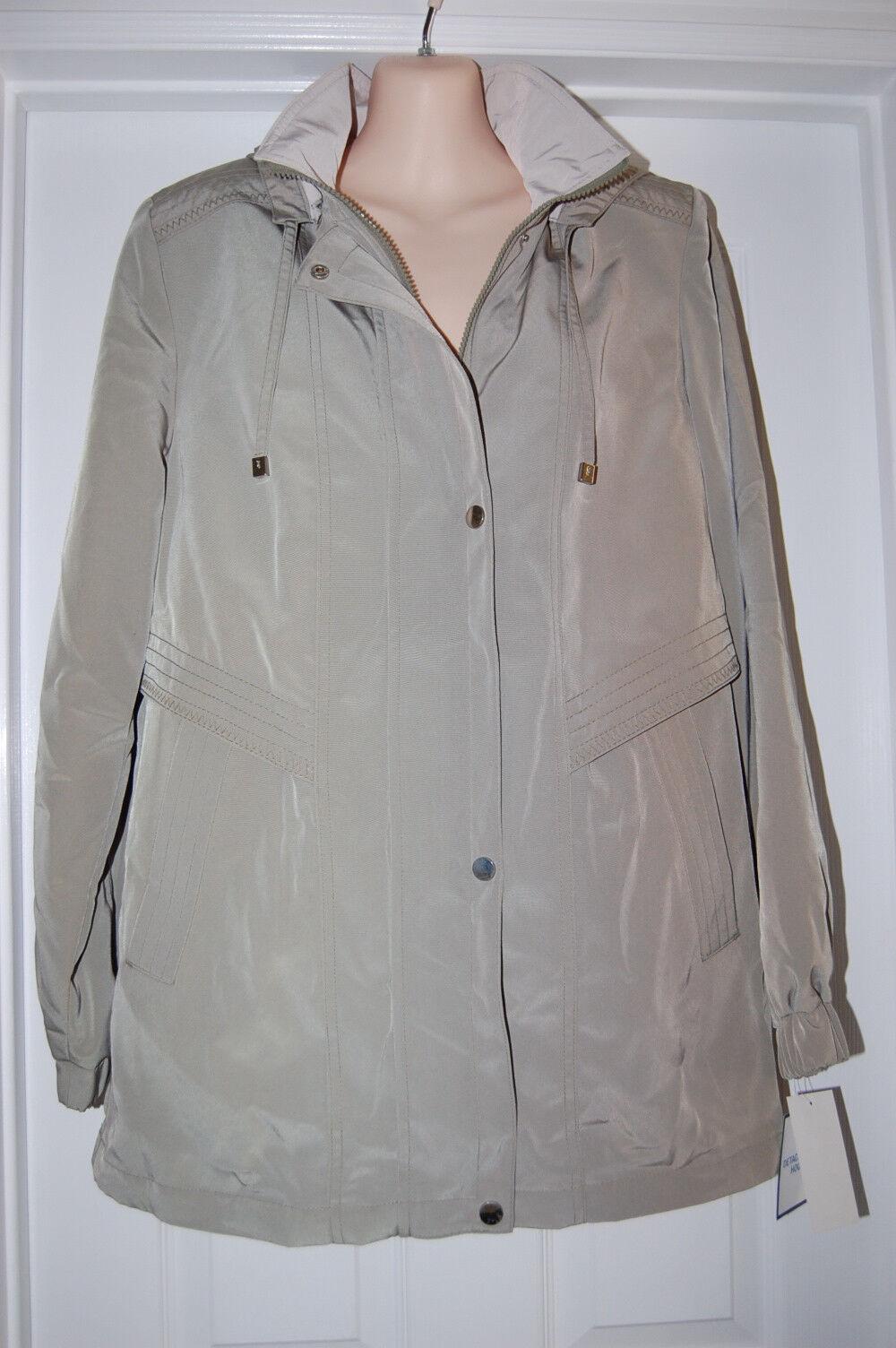 NEW  Woman's Winter Coat Size  S  Croft & Barrow Detachable Hood   Retails  85