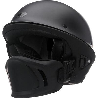 Bell Rogue Flat Matte Black Motorcycle Harley Chopper Bobber Half Helmet XXL 2XL