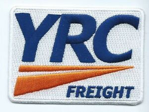 Details about YRC Freight (Yellow Roadway Corporation)Truck Driver patch  White 2-1/2 X 3-3/8