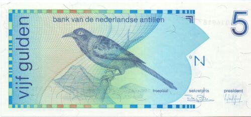 Netherlands Antilles 5 Gulden 1986 UNC Pick 22a