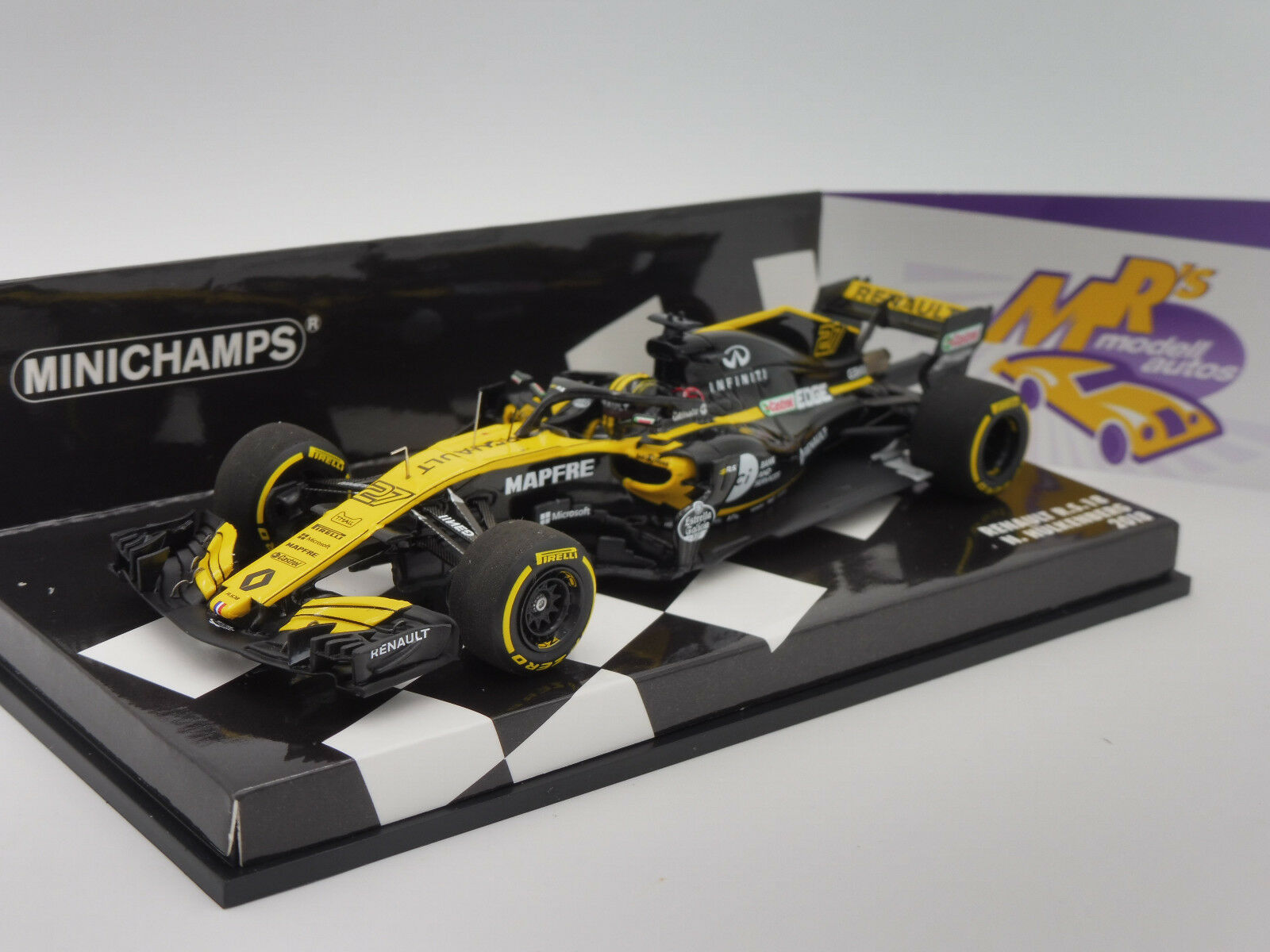 Minichamps 417180027-Renault Sport r.s.18 fórmula 1 2018  n. Hülkenberg  1 43