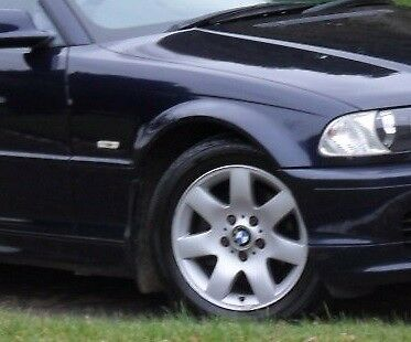 BMW E46 COUPE WING 1998 2003 DRIVER SIDE PAINTED 475 SAPPIRE BLACK  BRAND NEW