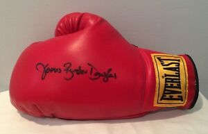 Autographed-Hand-Signed-Everlast-Boxing-Glove-James-034-Buster-034-Douglas-Rare
