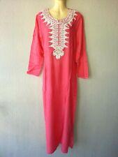 Abaya Maxikleid arabisches Sommerkleid Kleid Takschita Jellaba Djelaba M XXXL