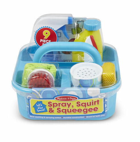 18602 Squirt /& Raclette Play Set Spray Melissa and Doug LET/'S PLAY HOUSE