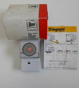 Prudent Legrand 037 52 Microrex T Time Switch With Daily Programme Ex 925401