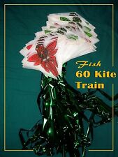 Chinese Kite Train - Fly fish, Fly 60 Kites at once