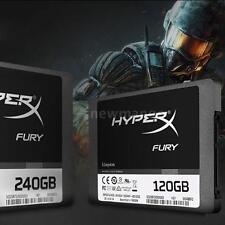 "Kingston HyperX FURY 120GB 2.5"" SATA III Internal SSD Solid State Drive G1V6"