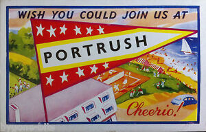 PORTRUSH-CO-ANTRIM-POSTCARD-1950-039-s-IRISH-NORTHERN-IRELAND