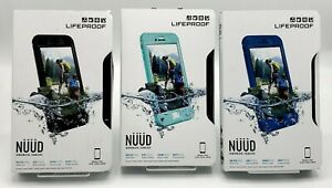 """New Waterproof Screenless Case by Lifeproof Nuud for 5.5"""" iPhone 7 Plus Colors"""