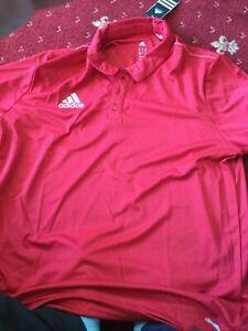 Polo-chemise-Adidas-Climalite-Core-15-b-n-w-t-R-r-P-25-Taille-XL-Grenier-Box-15
